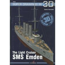 Kagero Super Drawings in 3D 37: The Light Cruiser SMS Emden