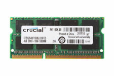 """Crucial 4GB PC3-8500 DDR3-1066MHz SODIMM RAM For Apple MacBook Pro 15"""" Mid 2010"""