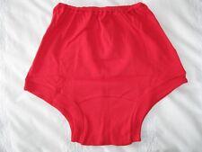 "GENUINE VINTAGE Scarlet Red CHERUB School Knickers size 20"" W32-35"" - NEW 17/03"