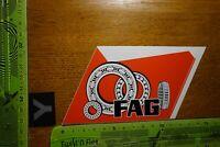 Alter Aufkleber Motorrad Auto Werkstatt FAG
