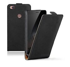 SLIM ZTE Nubia Z11 BLACK Leather Flip Case Cover For Mobile Phone