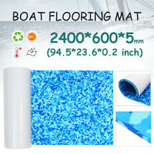 60x240cm EVA Foam Boat Flooring Sheet Embossed Anti-slip Marine Decking Mat