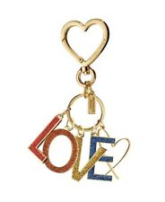 VICTORIA'S SECRET Gift Bag Keychain LOVE CHARM - NEW
