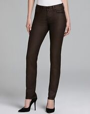 NWT Not Your Daughter's Jeans NYDJ Sheri in Iridescent Copper Coated Skinny 0