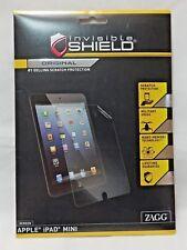 Zagg InvisibleShield Apple iPad Mini Original Screen Coverage Protector NEW