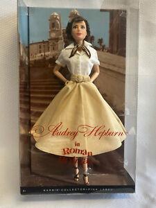 2013 Mattel Barbie Pink Label Audrey Hepburn In Roman Holiday NRFB NIB
