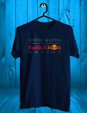 New RED BULL RACING logo custom Navy,Black Men's T-Shirt Tee Size USA S to 5XL