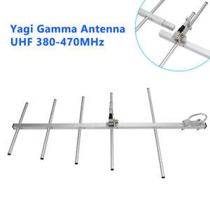 UHF Female 9dBi 100W High Gain Yagi Antenna 380-470MHz For 2 Way Radio Baofeng