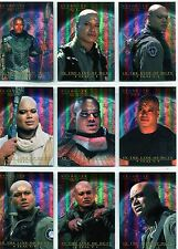 Stargate SG1 Season 7 Complete In The Line Of Duty Tealc Chase Card Set T1-9