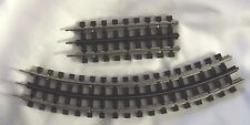 K line Ghost Rail Track, O scale, 2 pieces, 1 short, 1 curved.