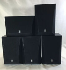 Yamaha NS-A16 Surround Sound System Speakers (5) - TESTED