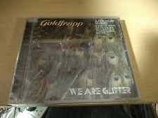 Goldfrapp ‎We Are Glitter NEW Sealed CD US Import Supernature Remixed Number 1