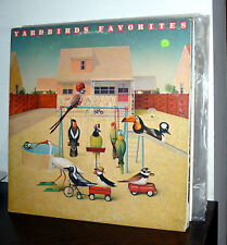 YARDBIRDS FAVORITES  LP PROMO USA 1977 NOT FOR SALE EPIC