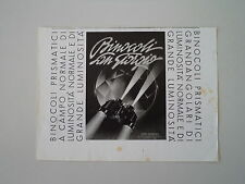 advertising Pubblicità 1941 BINOCOLI SAN GIORGIO - GENOVA SESTRI