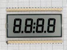 SHELLY 85400-01 4-DIGITS 7-SEGMENT LCD DISPLAY GLASS
