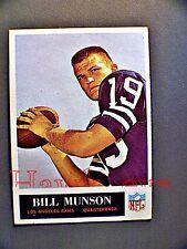 1965 PHILADELPHIA #93 BILL MUNSON RC LOS ANGELES RAMS SHARP