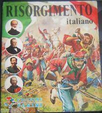 ALBUM FIGURINE=RISORGIMENTO ITALIANO 1975=PRESENTI 6 FIGURINE=