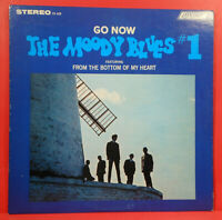 GO NOW! THE MOODY BLUES #1 LP 1966 ORIGINAL PRESS GREAT CONDITION! VG++/VG+!!