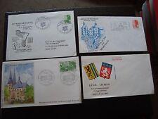 FRANCE - 3 enveloppes 1982/1983/1984 +1 (B12) french