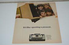 Nice Vintage 1960s Polaroid Color Pack Camera Magazine Ad Rare