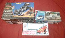 3 Voiture NIKKO Peugeot 205 Super Fox 4WD Mini Dictator [En l'état] *JRF*