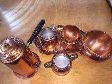 Copper Craft Guild Coffee pot Sugar Bowl