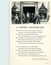 O. Henry's Uncle In Front Of His Drugstore, Greensboro, North Carolina NC