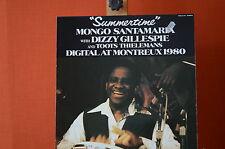 Summertime Dizzy Gillespie Mongo Santamaria Pablo live pp2419  LP NMint  1452