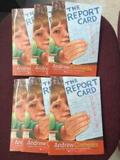 *Guided Reading Set of 6 of The Report Card by Andrew Clements*NEW*