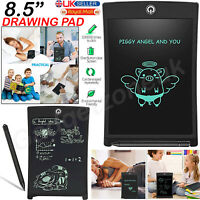 "8.5"" Electronic Digital LCD Writing Pad Tablet Drawing Graphics Board Graphics"