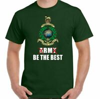 ROYAL MARINES T-SHIRT RM Be The Best Commando Cap Badge Bootneck 40 42 43 45 47