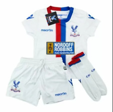 Âge 3-4 Y/O Crystal Palace FC Blanc Maillot de Football Enfants Mini Kit
