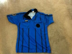 USSF Official Sports Referee Jerseys (Nine Total in Size Medium)-LS/SS
