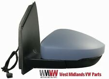 VW POLO 2009>2014 Door Mirror Electric Heated Primed Passenger Side  6R1857508D
