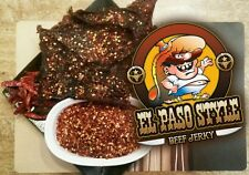 EL PASOS BEST BEEF JERKY!!! RED CRUSHED CHILE!!! TEXAS STYLE!!!