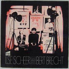 Bertold Brecht 33 tours Ilse Scheer