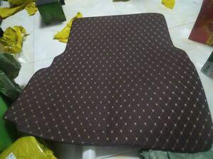 Customized car floor Trunk Cargo mat  fit  for  Maserati Quattroporte Coffee