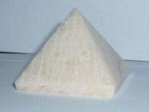 cristalloterapia PIRAMIDE PIETRA DI LUNA LUCENTE metafisico arte piramidoterapia