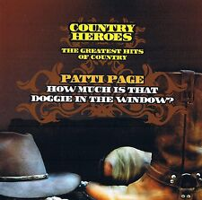 "PATTI PAGE ""Le Plus Grand Hits Of Country"" Country HEROES CD & 16 Titres"