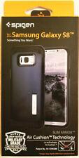 New OEM Spigen Slim Armor Metal Slate Case For Samsung Galaxy S8
