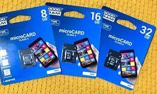 MICRO SD 8/16/32GB CON ADATTATORE SD SILICON POWER CLASSE 4 / MICRO SDHC