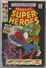Marvel Super-Heroes #14 (Spider-Man) Marvel (1968) Silver Age Comic FN/FN+