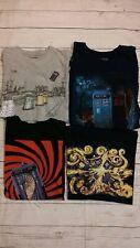 Doctor Who T Shirt Men Tardis Daleks Starry Night Men Medium M LOT
