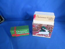 The Christmas Cookie Deck 50 Delicious Holiday Confections Recipe Cards In Box