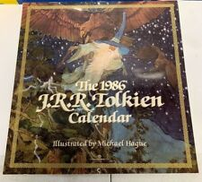 1986 Jrr Tolkien Calendar Lord Of The Rings - New not sealed