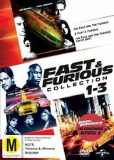 The Fast and the Furious / 2 Fast 2 Furious / The Fast and the Furious: Tokyo Drift (DVD, 2015, 3-Disc Set)