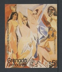 Grenada Grenadines - 1981, Anniversary of Picasso sheet - M/m - SG MS443