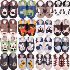 Shoeszoo cuir souple bébé / enfant en bas âge de chaussures de pantoufles mignon