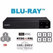 Sony BDP-S5500 3D MULTI REGION ALL REGIONS Free ABC DVD WiFi 1-8  Blu-Ray Player