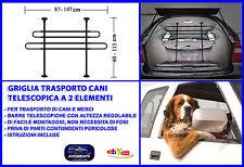 Rete auto per cani griglia divisoria universale telescopica per trasporto cane